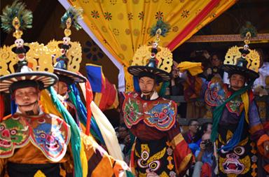 Bhutan's most dramatic festivals Tshechu