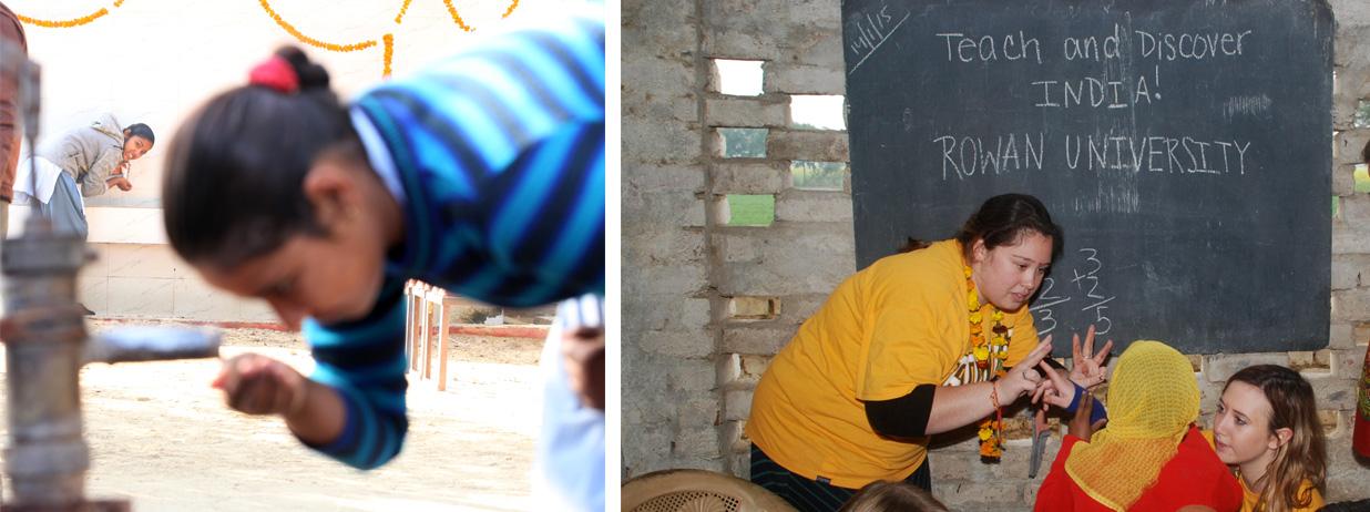 Diane Raj rural school in Bharatpur,Worldwide Adventures India