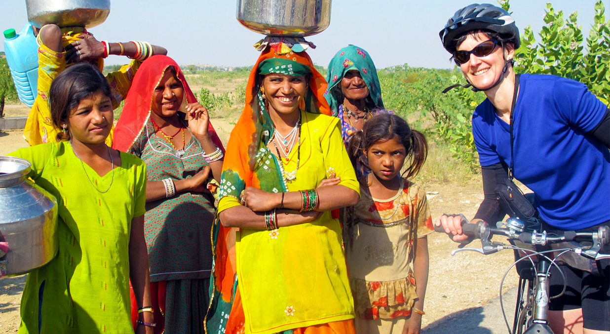 Savour a biking trail in Rajasthan