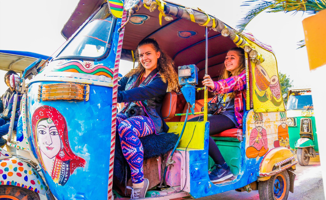 Take on the streets of Jaipur in a Tuk Tuk
