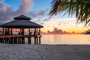Maldives beach is truly a magical experience