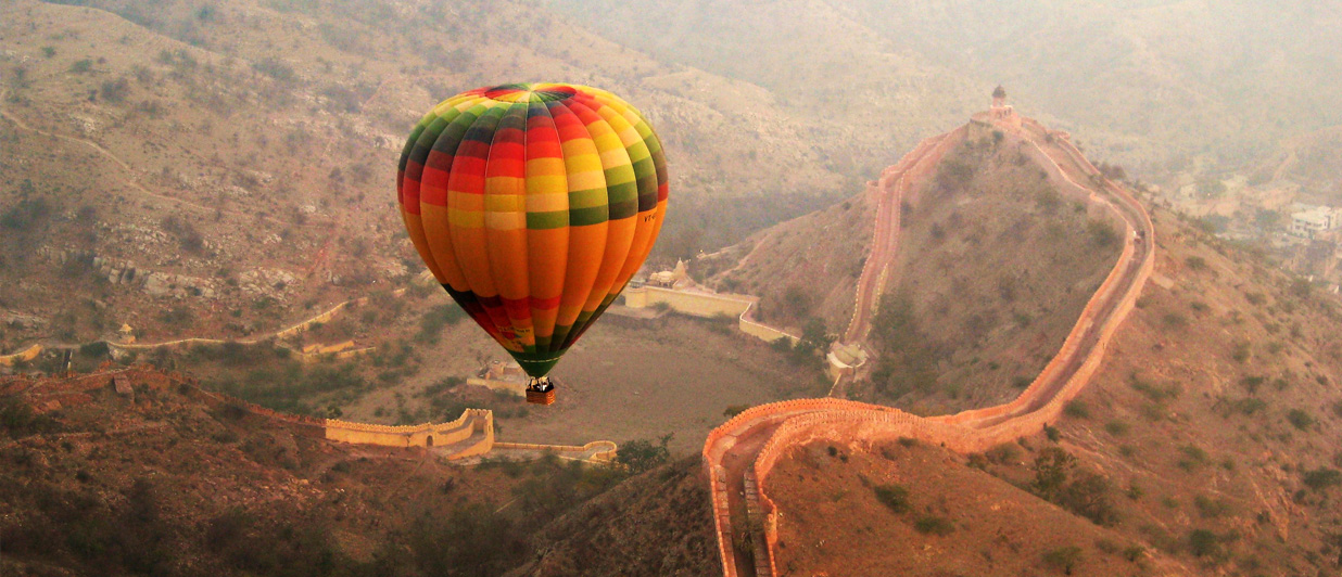 Float over the Pink City