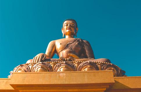 Fly Delhi - Paro - Drive to Thimphu (2 hrs drive)