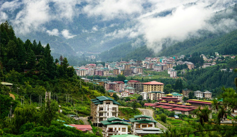 Arrive Paro, BHUTAN - Drive to Thimphu (1 ½ hrs drive)