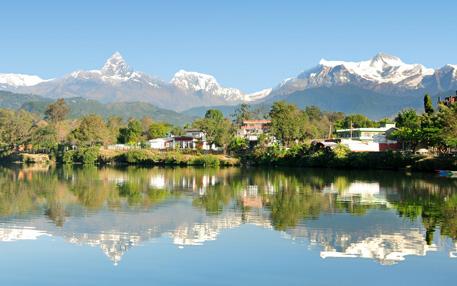 Fly Kathmandu - Pokhara (30 min)