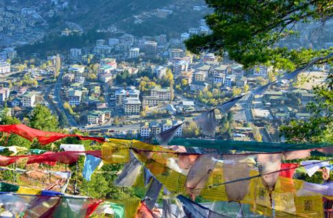 Arrive Paro - Drive to Thimphu