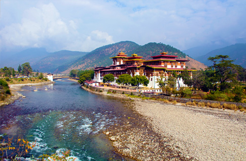Ride the Richness of the Punakha Valley