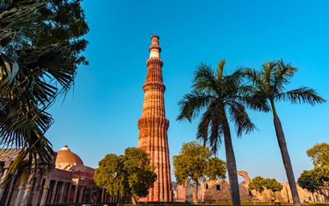 Arrival in Delhi