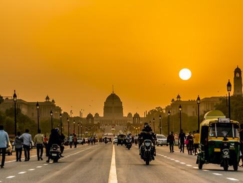 Agra - Delhi - Departure