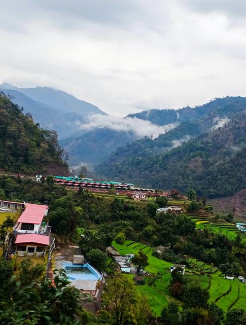 Fly Jaipur - Dehradun - Drive to Rishikesh