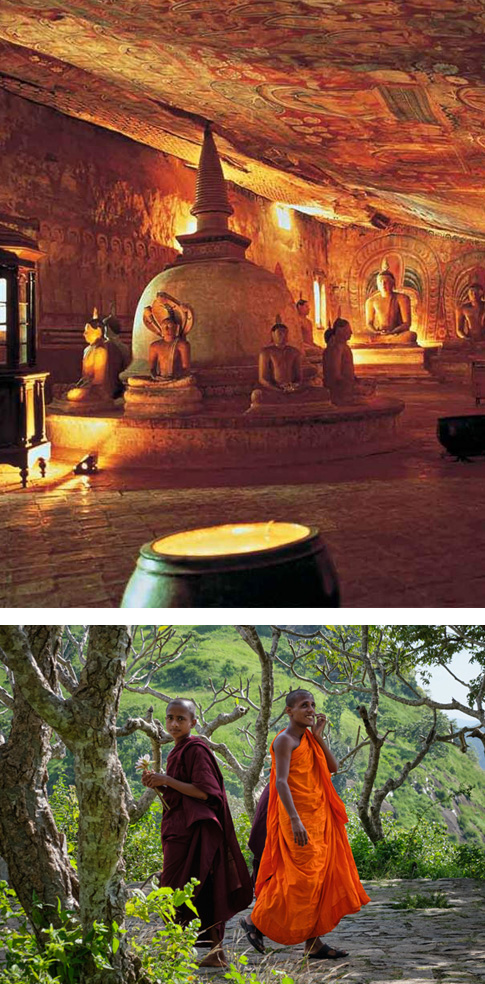 Sigiriya - Kandy (3 hrs drive)